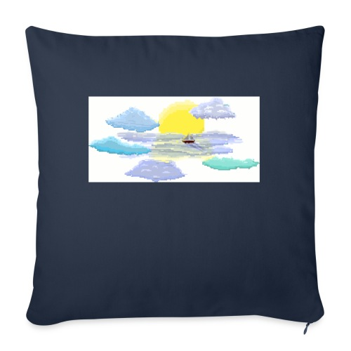 """Sea of Clouds - Throw Pillow Cover 18"""" x 18"""""""
