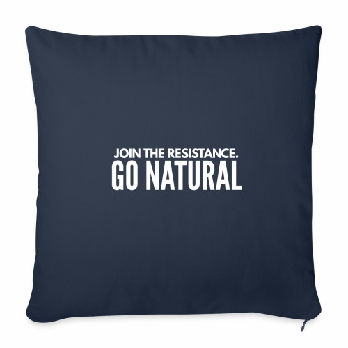 """Join the resistence - Throw Pillow Cover 17.5"""" x 17.5"""""""