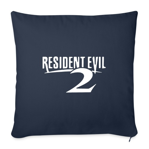 """Resident Evil 2 REimagined RPD - Throw Pillow Cover 18"""" x 18"""""""