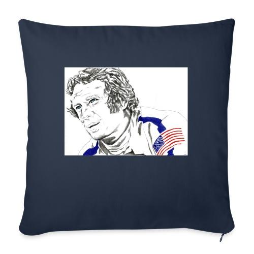 """McQUEEN - Throw Pillow Cover 18"""" x 18"""""""