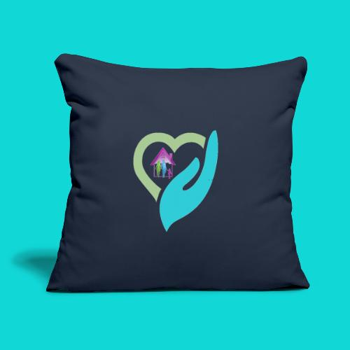 "Body Home and Health Swag - Throw Pillow Cover 18"" x 18"""