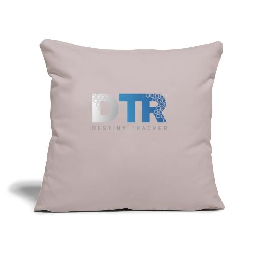 "Destiny Tracker v2 Womens - Throw Pillow Cover 17.5"" x 17.5"""
