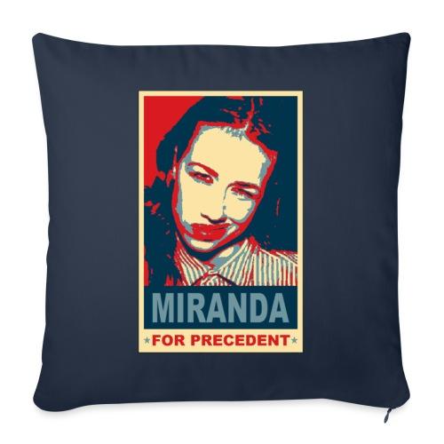 """Miranda Sings Miranda For Precedent - Throw Pillow Cover 18"""" x 18"""""""