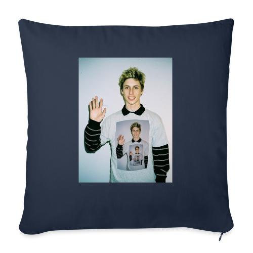 "lucas vercetti - Throw Pillow Cover 17.5"" x 17.5"""