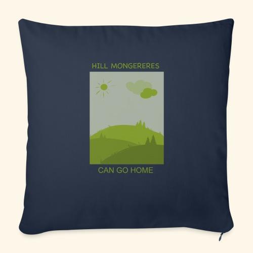 "Hill mongereres - Throw Pillow Cover 17.5"" x 17.5"""