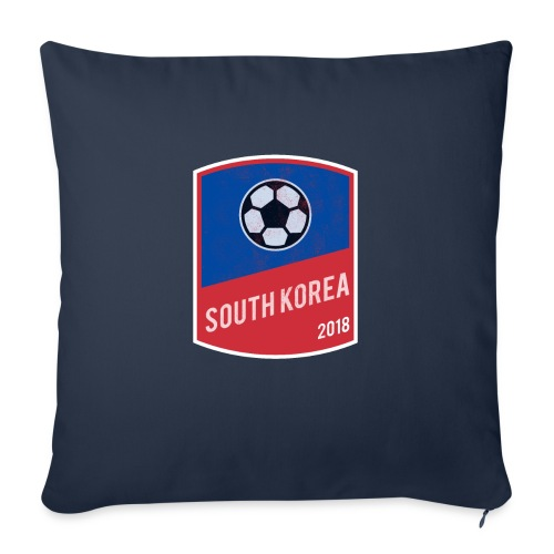 """South Korea Team - World Cup - Russia 2018 - Throw Pillow Cover 17.5"""" x 17.5"""""""
