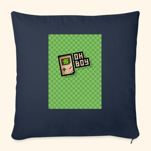 "oh boy handy - Throw Pillow Cover 18"" x 18"""