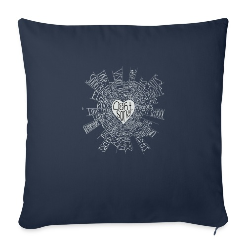 "LightSong High Frequency2 - Throw Pillow Cover 18"" x 18"""