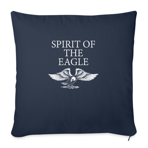 """Spirit of the Eagle - Throw Pillow Cover 17.5"""" x 17.5"""""""