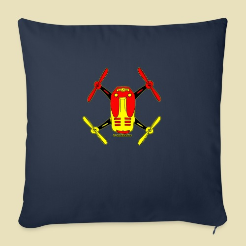 """GrisDismation Ongher Droning Out Tshirt - Throw Pillow Cover 17.5"""" x 17.5"""""""