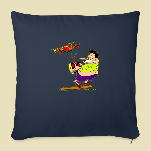 """GrisDismation Ongher Droning Out Tshirt - Throw Pillow Cover 18"""" x 18"""""""