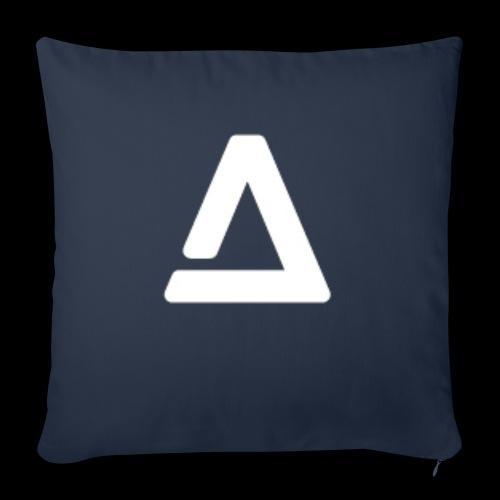 """logo - Throw Pillow Cover 18"""" x 18"""""""