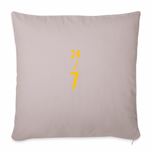 "All Day Every Day - Throw Pillow Cover 17.5"" x 17.5"""
