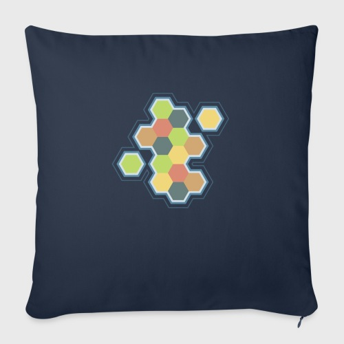 """Settlers of Catan - Throw Pillow Cover 17.5"""" x 17.5"""""""