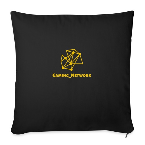 "gaming network gold - Throw Pillow Cover 18"" x 18"""