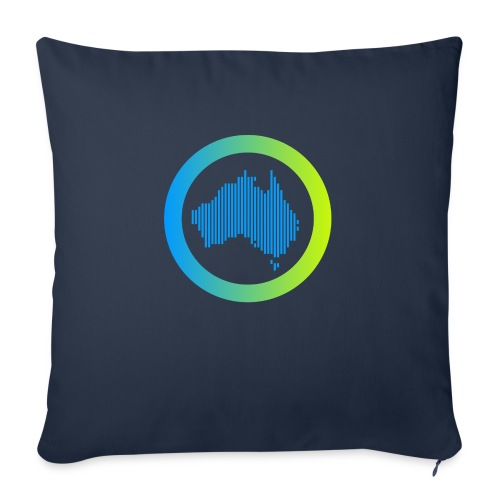 "Gradient Symbol Only - Throw Pillow Cover 17.5"" x 17.5"""