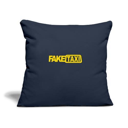 "FAKE TAXI Duffle Bag - Throw Pillow Cover 17.5"" x 17.5"""