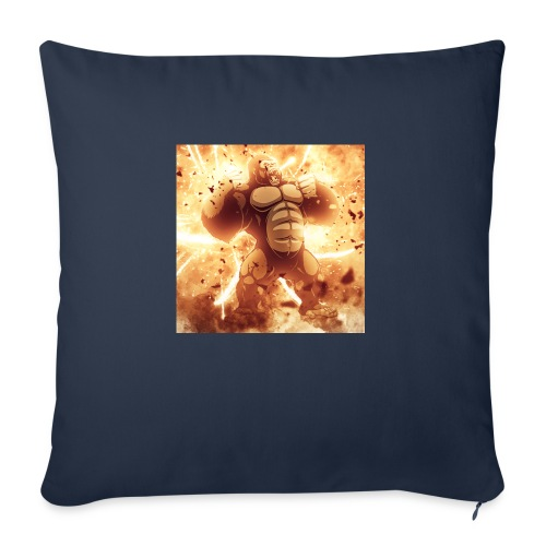 """Angry Gorilla Explosion - Throw Pillow Cover 17.5"""" x 17.5"""""""