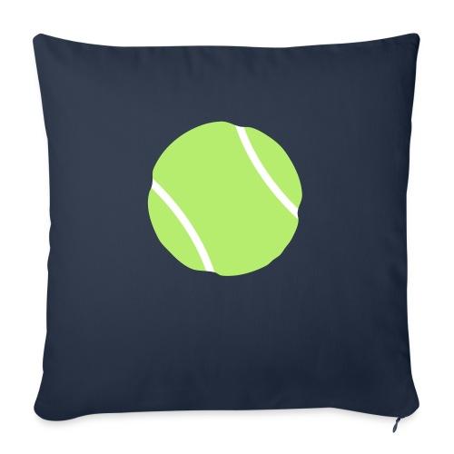"tennis ball - Throw Pillow Cover 17.5"" x 17.5"""