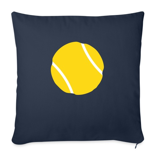 "tennis ball - Throw Pillow Cover 18"" x 18"""