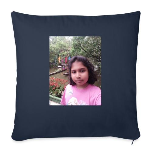 "Tanisha - Throw Pillow Cover 18"" x 18"""