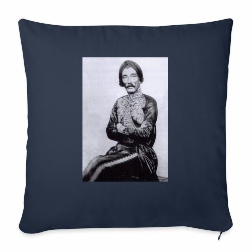 "raden saleh photo sp 03 - Throw Pillow Cover 18"" x 18"""
