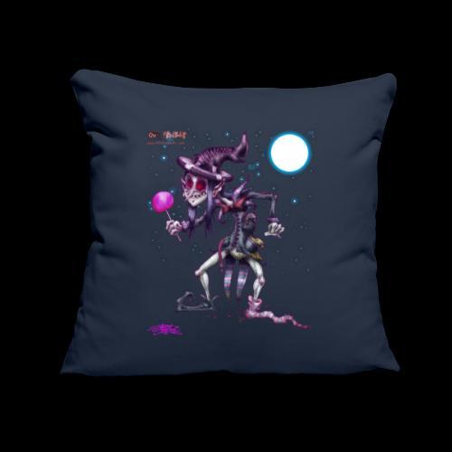 """The Black Weirdo - Throw Pillow Cover 18"""" x 18"""""""