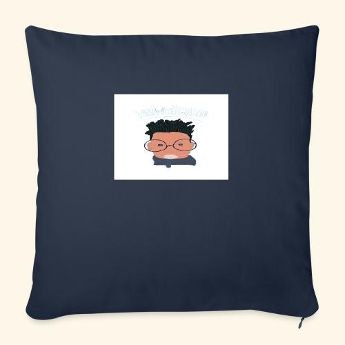 "weiweigang logo edit - Throw Pillow Cover 18"" x 18"""
