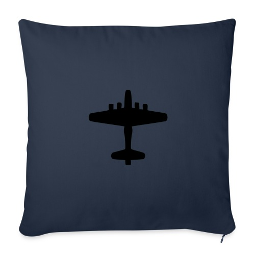 """US Bomber - Axis & Allies - Throw Pillow Cover 17.5"""" x 17.5"""""""