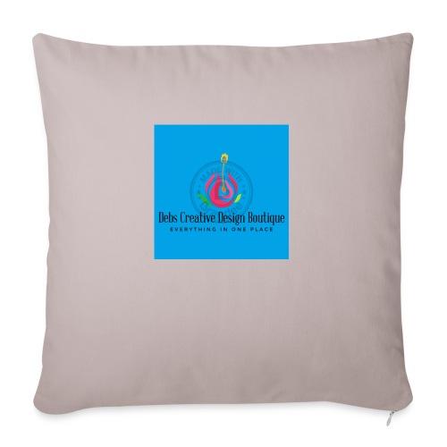 """Debs Creative Design Boutique 1 - Throw Pillow Cover 17.5"""" x 17.5"""""""