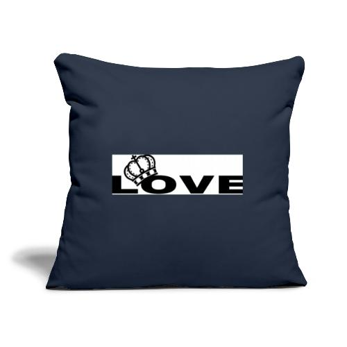 "KBK CLOTHING - Throw Pillow Cover 18"" x 18"""