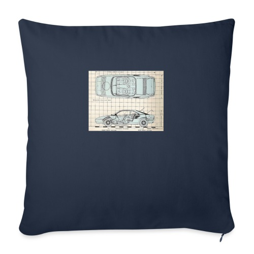 "drawings - Throw Pillow Cover 17.5"" x 17.5"""