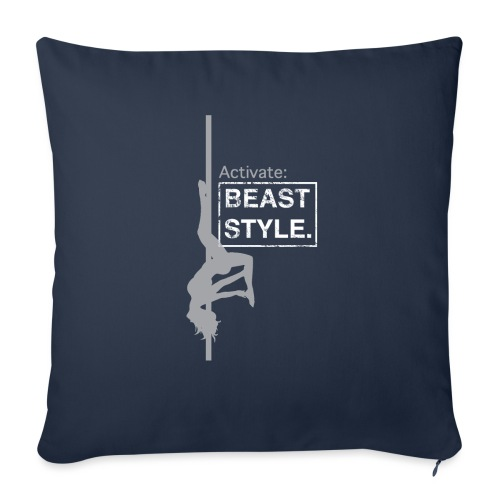 """Activate: Beast Style - Throw Pillow Cover 17.5"""" x 17.5"""""""