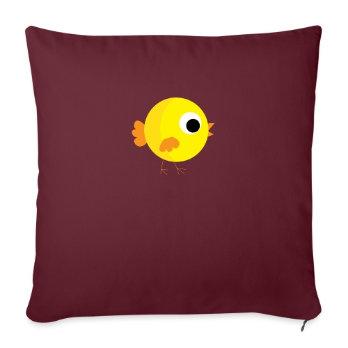 """HENNYTHEPENNY1 01 - Throw Pillow Cover 18"""" x 18"""""""