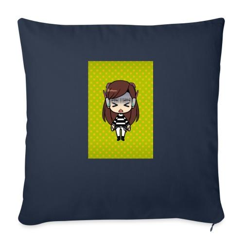 """Kids t shirt - Throw Pillow Cover 17.5"""" x 17.5"""""""