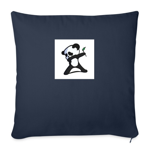 "Panda DaB - Throw Pillow Cover 17.5"" x 17.5"""