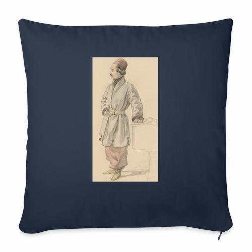 "rs portrait sp 01 - Throw Pillow Cover 18"" x 18"""