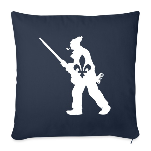 "Patriote 1837 Québec - Throw Pillow Cover 18"" x 18"""