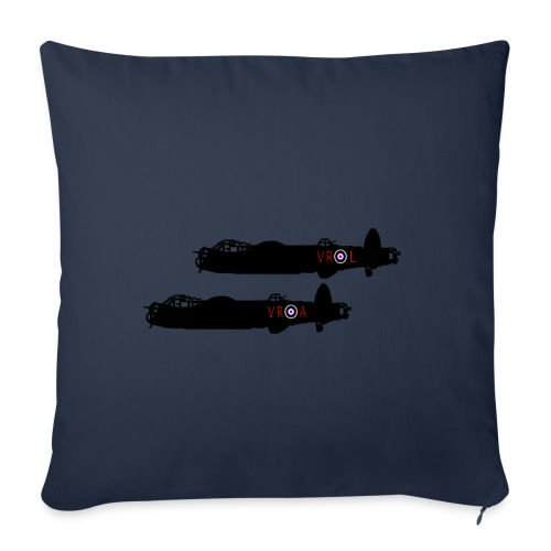 """2 Lancaster VR L & A - Throw Pillow Cover 17.5"""" x 17.5"""""""
