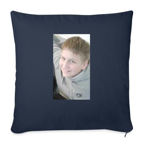 "EvanTVSignatureMerch - Throw Pillow Cover 18"" x 18"""