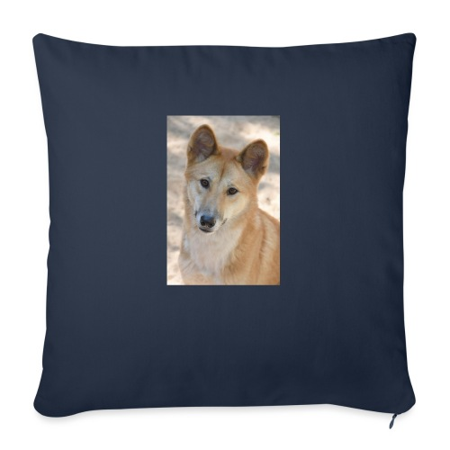 """My youtube page - Throw Pillow Cover 17.5"""" x 17.5"""""""