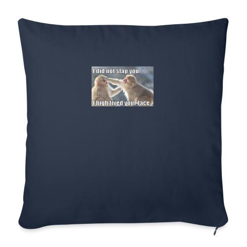 "funny animal memes shirt - Throw Pillow Cover 17.5"" x 17.5"""