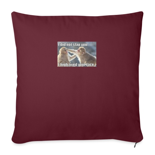 "funny animal memes shirt - Throw Pillow Cover 17.5"" x 17.5"""