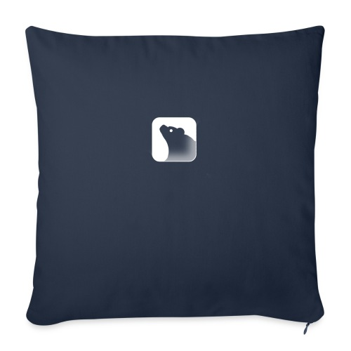 "LOGO - Throw Pillow Cover 17.5"" x 17.5"""