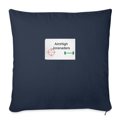 "Gets you AimHigh merch - Throw Pillow Cover 18"" x 18"""