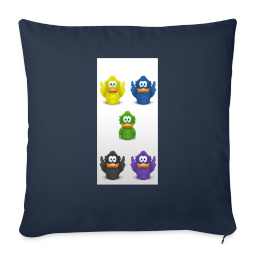 """5 adiumys png - Throw Pillow Cover 18"""" x 18"""""""