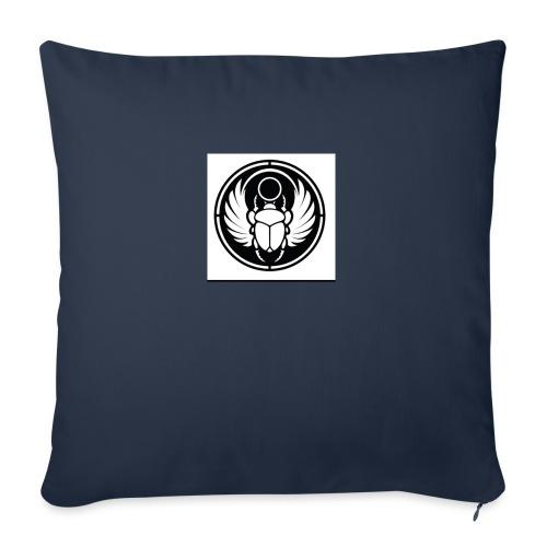"Scarab - Throw Pillow Cover 18"" x 18"""