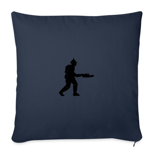 """Infantry - Throw Pillow Cover 17.5"""" x 17.5"""""""