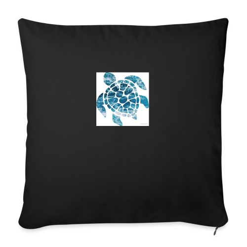 """turtle - Throw Pillow Cover 17.5"""" x 17.5"""""""