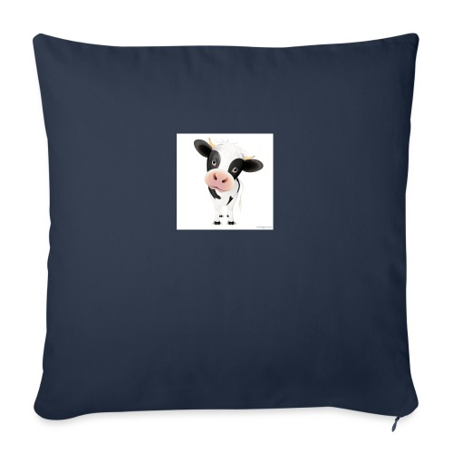 "cows - Throw Pillow Cover 17.5"" x 17.5"""